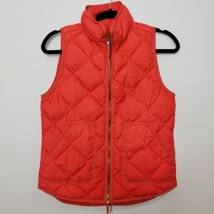 J Crew Excursion Quilted Vest Size XS